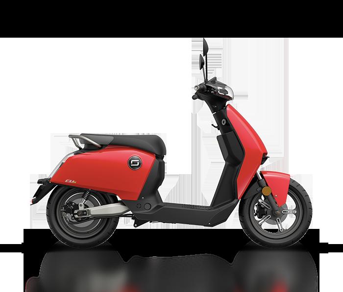Super SOCO CUx - piros - elektromos robogó